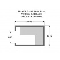 Model T2B Turkish Steam Room