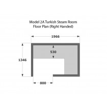 Model T2A Turkish Steam Room
