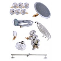 SK001 Shower Kit with hydro massage jets