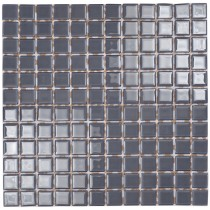 Slate Grey Glass Mosaic