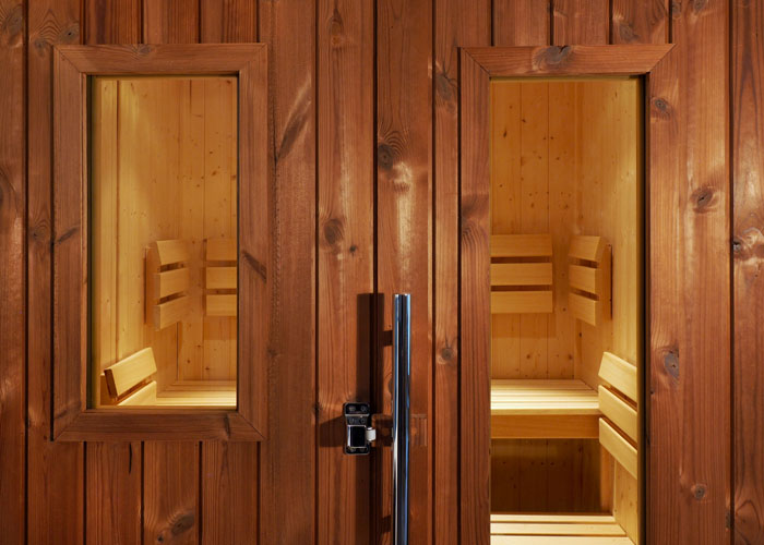 Oceanic Outdoor Sauna Window Panels