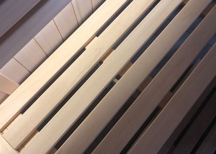 Oceanic Vision Sauna 6 slat bench