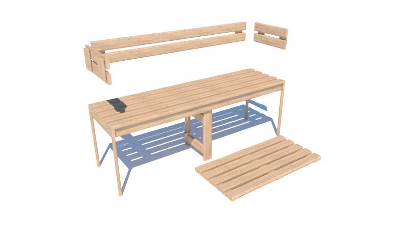 Sauna Timber Kits and Parts