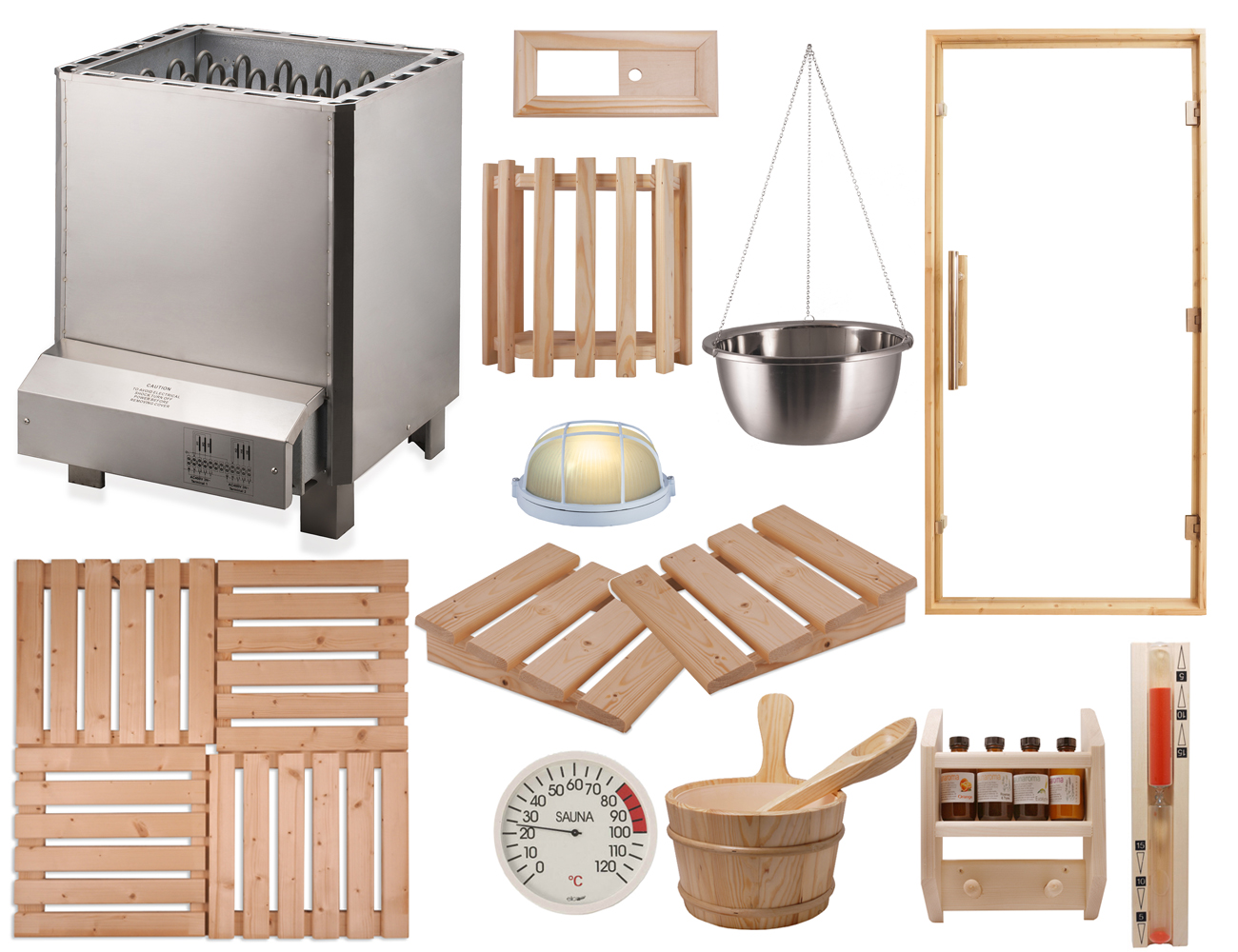 Commercial Sauna Installation Kits