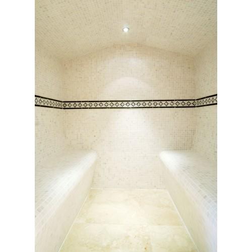 White Natural Stone Mosaic 305 x 305mm