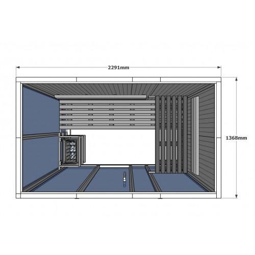 V2035 Vision Finnish Sauna Cabin