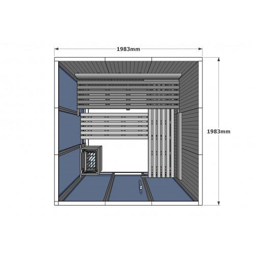 V3030 Vision Finnish Sauna Cabin