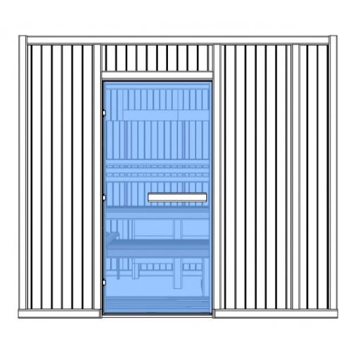 7 Person Heavy Duty Commercial Sauna - HD3040FS