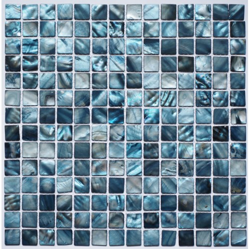 Blue Shell Mosaic 305 x 305mm