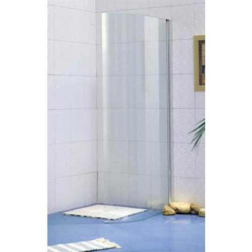 Clearance Item - 900x1850mm Curved Shower Screen C11