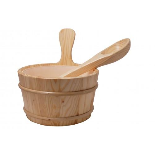 Sauna Bucket & Ladle