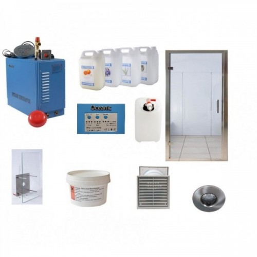 Light Duty Commercial Steam Room Kit