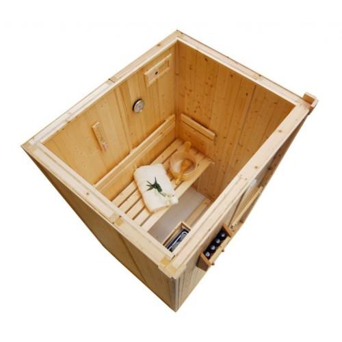 2 Person Traditional Sauna - D1520
