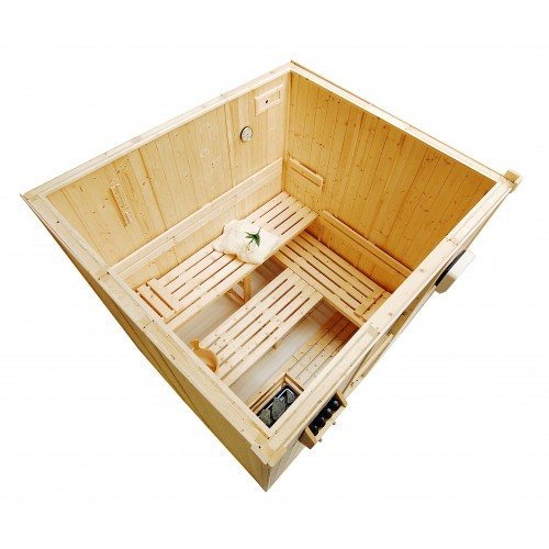 4 Person Traditional Sauna - D2530