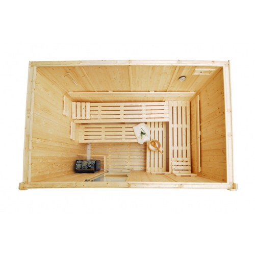6 Person Traditional Sauna - D2540