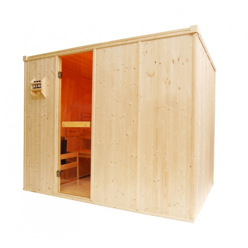 5 Person Traditional Sauna - D2040