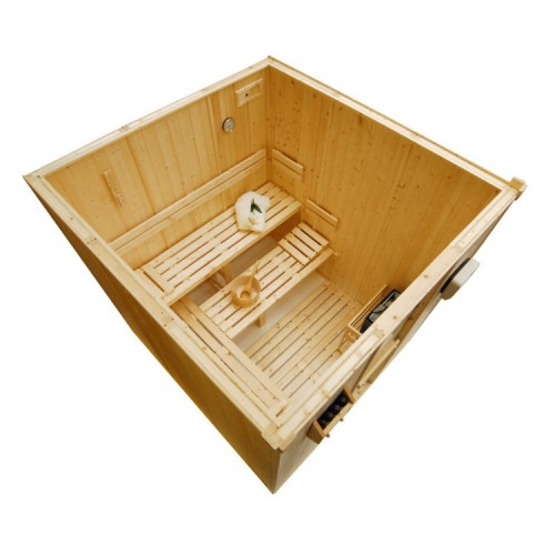 5 Person Traditional Sauna - D3030
