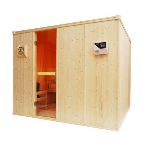 8 Person Traditional Sauna - D3040