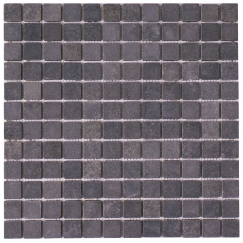 Dark Grey Natural Stone Mosaic 305 x 305mm