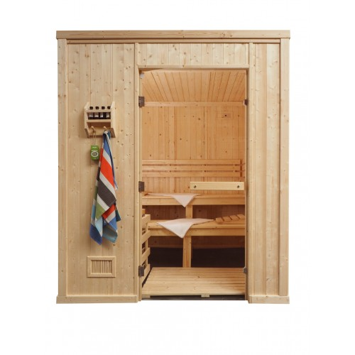 12 Person Heavy Duty Commercial Sauna - HD4040FS