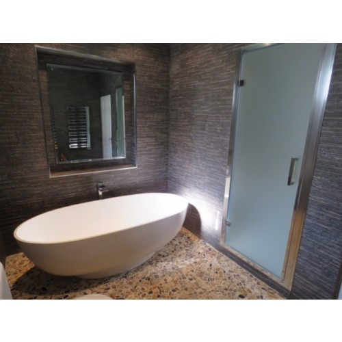 1000 x 1850mm Frosted Steam Room Door