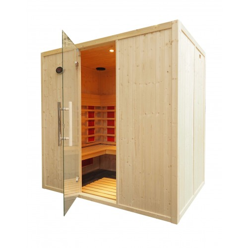 4 Person Home Infrared Sauna L Benches IR2030
