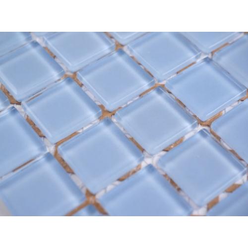 Light Blue Glass Mosaic 295 x 295mm