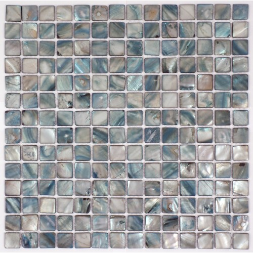 Light Blue Shell Mosaic 305 x 305mm