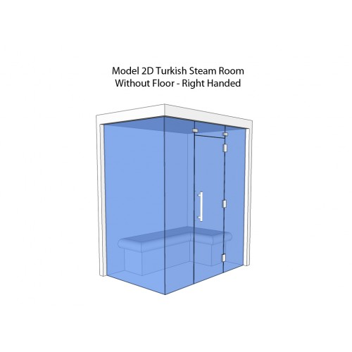 2 Person Home Turkish Steam Room Model 2D