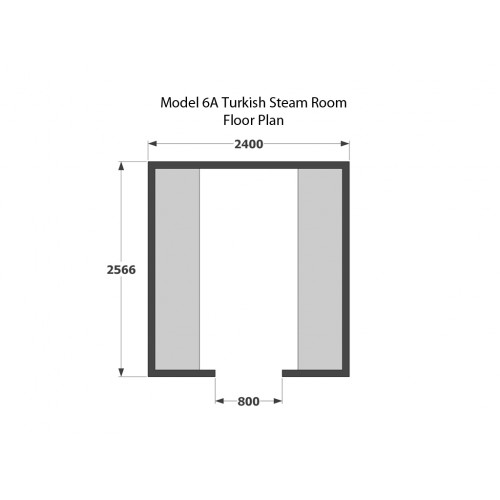8 Person Home Turkish Steam Room Model 6A