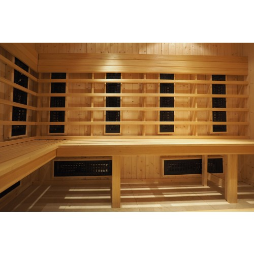 4 Person Home Infrared Sauna Parallel Benches IR2030
