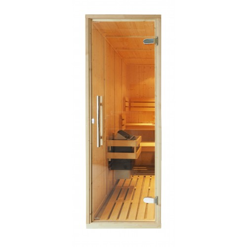 615 x 1875mm Clear Glass Sauna Door