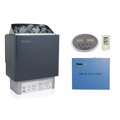 Deluxe Home Sauna Kit & Control system