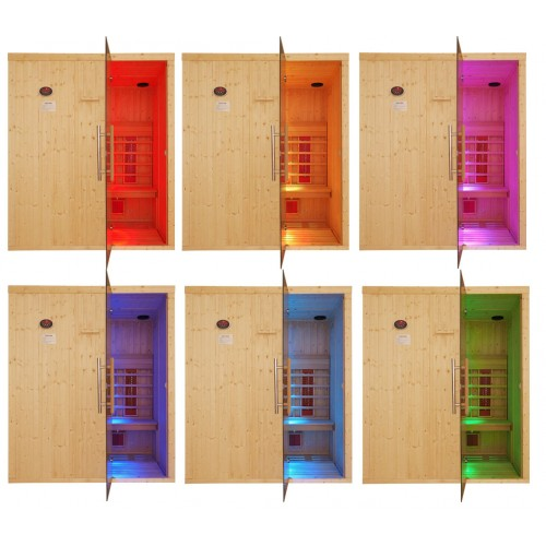 8 Person Commercial Infrared Sauna Disabled Access - IR4040
