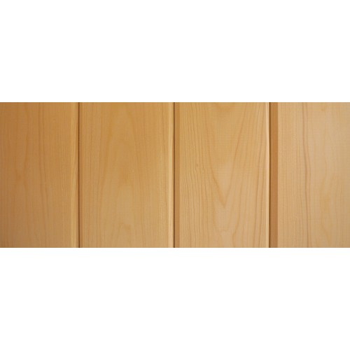 Spruce Sauna Wood Cladding - 95 x 9mm (Pack of 6 Lengths 1895mm)