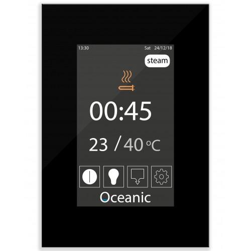 OSX - OCA Steam Room Generator Touch Screen Controls