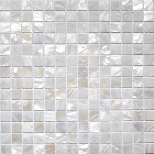 White Shell Mosaic 330 x 330mm