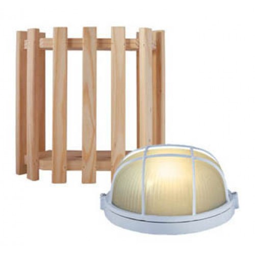 Sauna Lamp & Shade