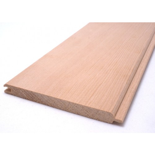 Hemlock Sauna Wood Cladding -  95 x 9mm (Pack of 6 Lengths 1895mm)