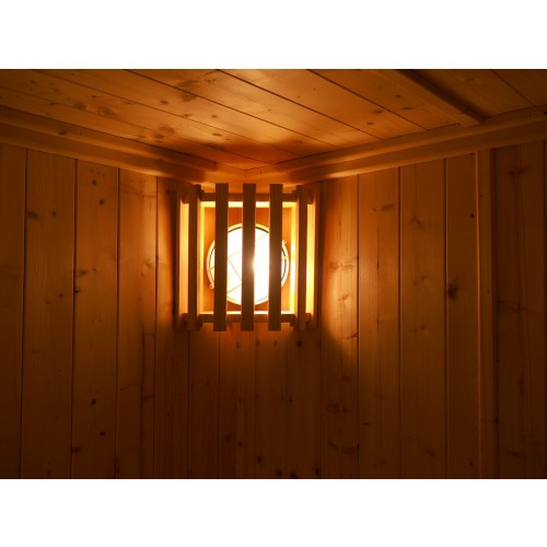 Sauna Lamp & Shade