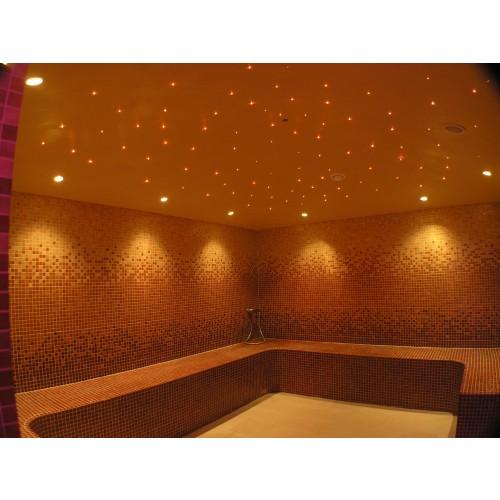 Sauna Glass Fibre Optic Lighting
