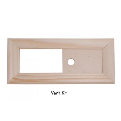 Sauna Vent Kit