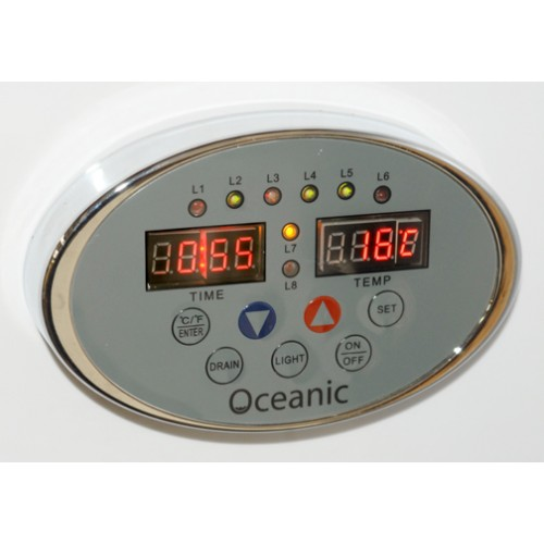 8kw Oceanic Light Duty Commercial Steam Generator