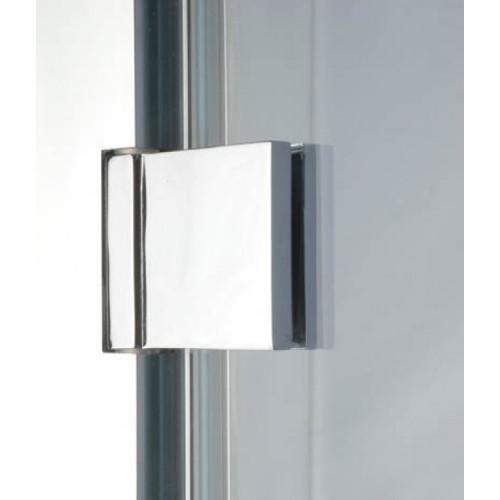 1000 x 2000mm Steam Room Door Chrome