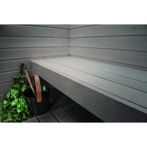 Sauna Paint Wax - Ash Grey 0.9L