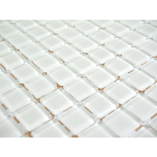 White Glass Mosaic 295 x 295mm