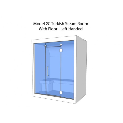 2 Person Home Turkish Steam Room Model 2C