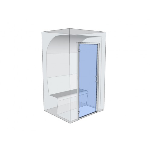 2 Person Home Turkish Steam Room Model 1
