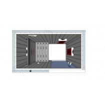 IR1020 Infrared Sauna Cabin