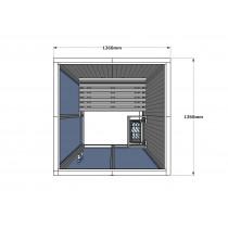 V2020 Vision Finnish Sauna Cabin floor plan